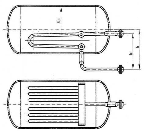 Теплообменные устройства типа 1 исполнение 2