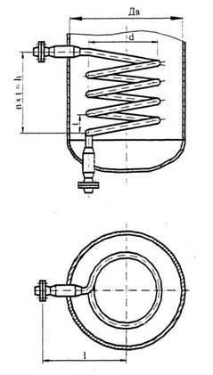 Теплообменные устройства типа 4 исполнение 2